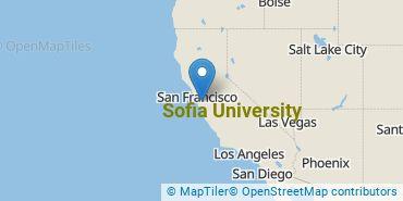 Location of Sofia University