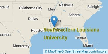 Location of Southeastern Louisiana University