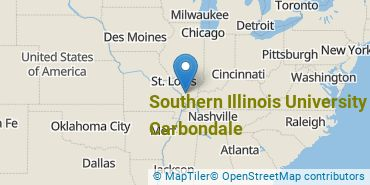 Location of Southern Illinois University Carbondale