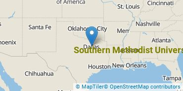 Location of Southern Methodist University