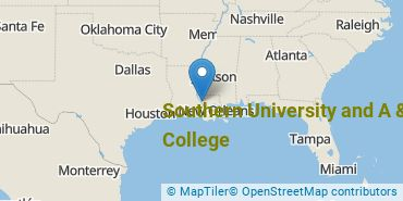 Location of Southern University and A & M College