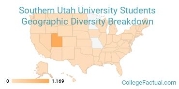 Where are Southern Utah University Students From?