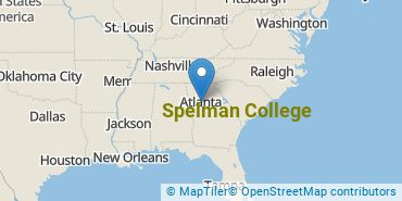 Location of Spelman College