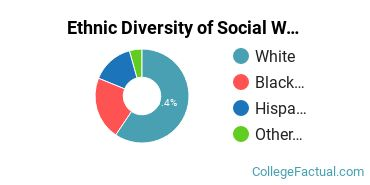 Ethnic Diversity of Social Work Majors at Spring Arbor University