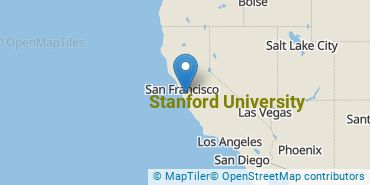 Location of Stanford University