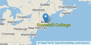 Location of Stonehill College