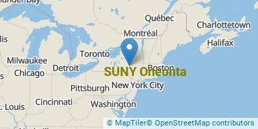 Location of SUNY Oneonta