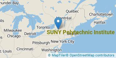 Location of SUNY Polytechnic Institute