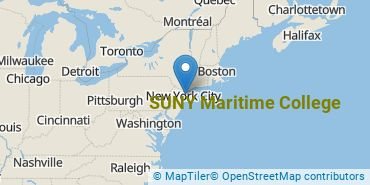 Location of SUNY Maritime College