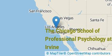 Location of The Chicago School of Professional Psychology at Irvine