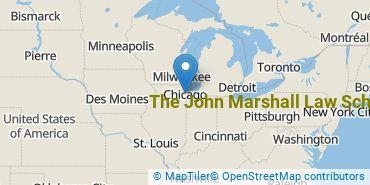 Location of The John Marshall Law School