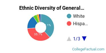 Ethnic Diversity of General Architecture Majors at The University of Texas at Arlington