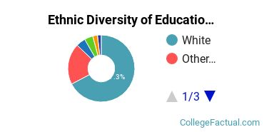 Ethnic Diversity of Education Majors at Towson University