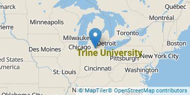 Location of Trine University