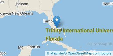 Location of Trinity International University - Florida