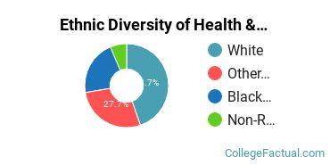 Ethnic Diversity of Health & Physical Education Majors at Troy University