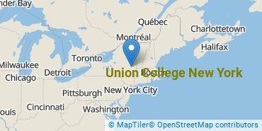 Location of Union College New York