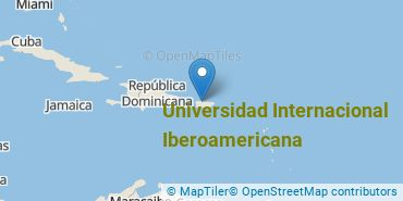 Location of Universidad Internacional Iberoamericana