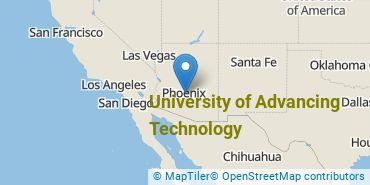 Location of University of Advancing Technology