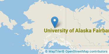 Location of University of Alaska Fairbanks