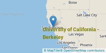 Location of University of California - Berkeley