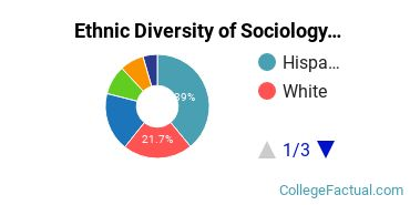 Ethnic Diversity of Sociology Majors at University of California - Los Angeles