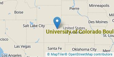 Location of University of Colorado Boulder