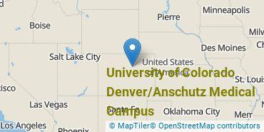 Location of University of Colorado Denver/Anschutz Medical Campus