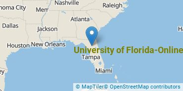 Location of University of Florida-Online
