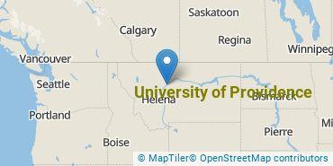 Location of University of Providence