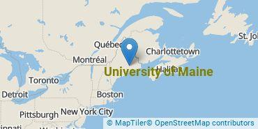 Location of University of Maine