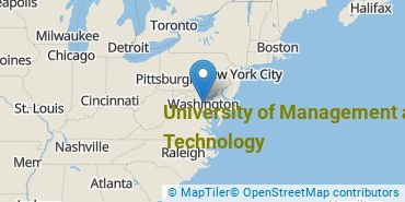 Location of University of Management and Technology