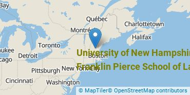 Location of University of New Hampshire School of Law