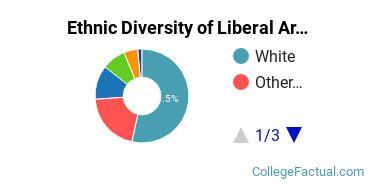 Ethnic Diversity of Liberal Arts General Studies Majors at University of Oklahoma Norman Campus
