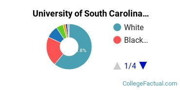 USCB Undergraduate Racial-Ethnic Diversity Pie Chart