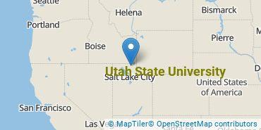 Location of Utah State University