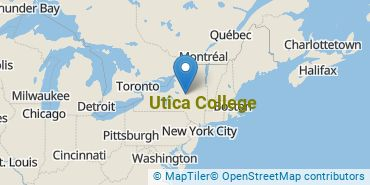 Location of Utica College