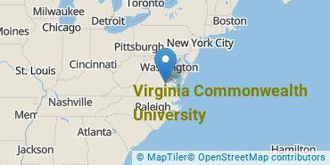 Location of Virginia Commonwealth University