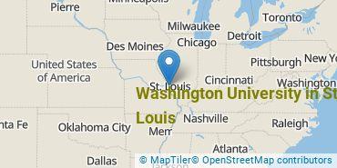 Location of Washington University in St Louis