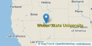 Location of Weber State University
