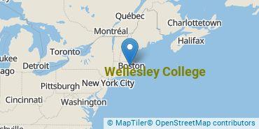 Location of Wellesley College