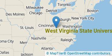 Location of West Virginia State University