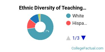 Ethnic Diversity of Teaching English or French Majors at Western Governors University