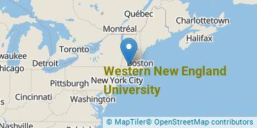 Location of Western New England University
