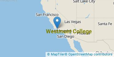 Location of Westmont College