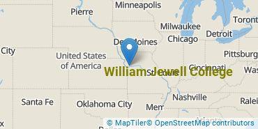 Location of William Jewell College
